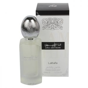 Парфюм для волос  Lattafa Hair  Mist Ana Abiyedh  50  мл