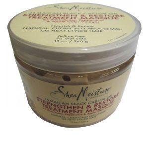 Маска для волос с черным Ямайским касторовым маслом Shea Moisture 340 грамм