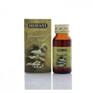 Масло хны холодного отжима Хемани Henna Oil cold pressing Hemani 30 мл