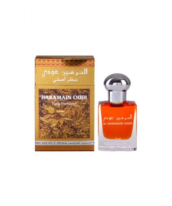 Масляные духи унисекс Al Haramain Oudi 15 мл Уди Масляные духи унисекс Al Haramain Oudi 15 мл Уди