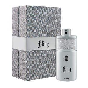 Парфюмированная вода для мужчин  Ajmal Bling  Silver 100 мл Блинг 3