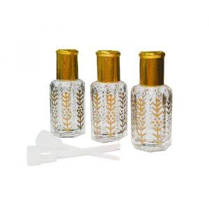 Флакон   парфюмерный стеклянный  для масел с  палочкой 12 мл