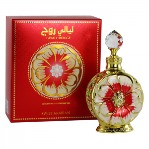 Маслянные духи для женщин Swiss Arabian Layali Rouge 15  мл