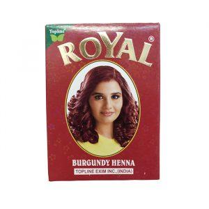 Индийская хна для волос Henna Royal Burgundy Бургунд 10 грамм
