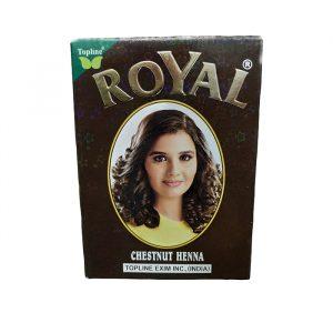Индийская хна для волос Henna   Royal  Chestnut Каштан  10 грамм