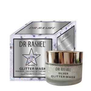 Маска — пленка  Dr. Rashel Glitter Silver Mask для сужения пор и матирования кожи 50 мл