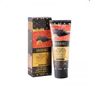Маска-пленка для рук с экстр. икры и гиалуроновой кислотой Dr. Rashel Gold Caviar with Collagen Peel off Hand Mask 80 мл