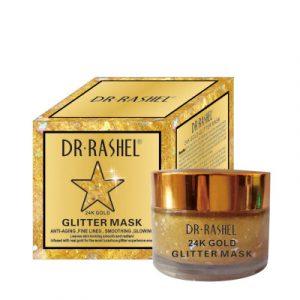 Маска — пленка  Dr. Rashel Glitter Gold Mask для зрелой кожи  от морщин   50 мл