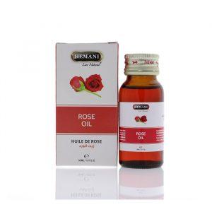 Масло розы холодного отжима Хемани Rose Oil cold pressing Hemani 30 мл