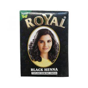 Индийская хна для волос Henna Royal Black черная 10 грамм