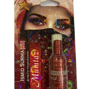 Сурьма для глаз индийская порошковая для оздоровления глаз Mumtaz Ismid  Red  4 грамм.