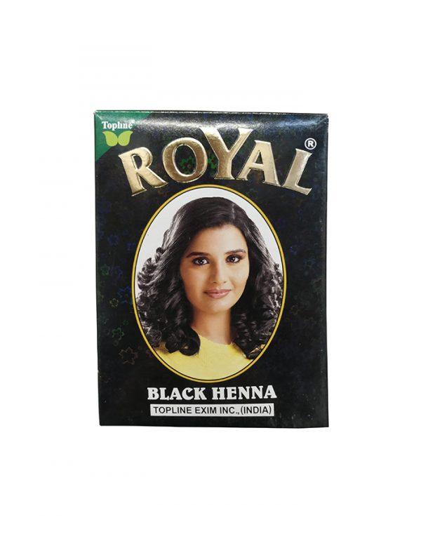 Индийская хна для волос Topline Exim Inc. Henna Royal Black