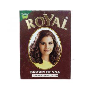 Индийская хна для волос Henna Royal Brown коричневая 10 грамм