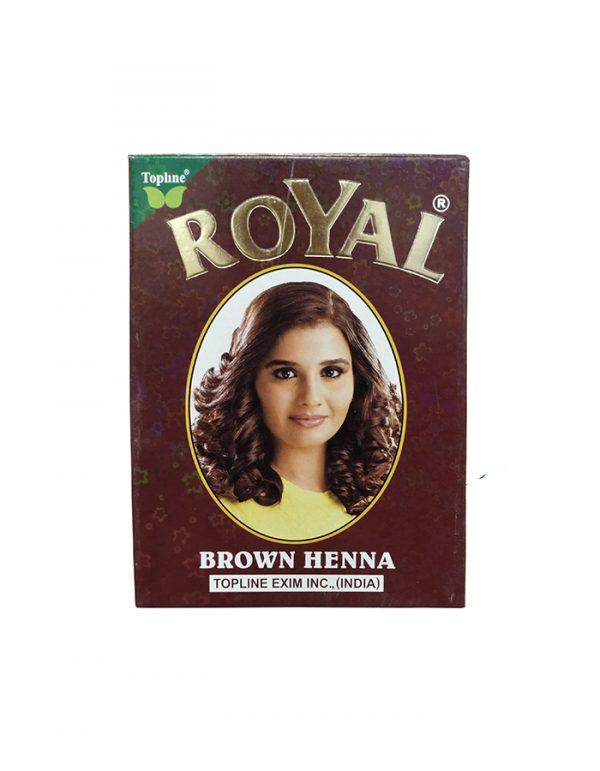 Индийская хна для волос Topline Exim Inc. Henna Royal Brown