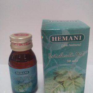 Масло пачули холодного отжима Хемани Patchouli Oil cold pressing Hemani 30 мл