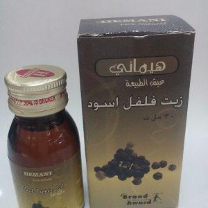 Масло черного перца холодного отжима Хемани Black Pepper Oil cold pressing Hemani 30 мл