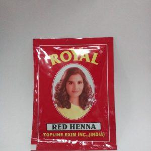 Индийская хна для волос Topline Exim Inc. Henna   Royal Red красная  10 грамм