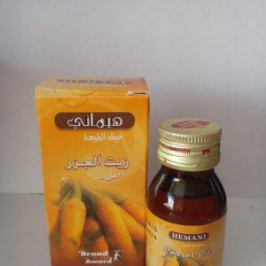 Масло моркови холодного отжима Хемани Carrot Oil cold pressing Hemani 30 мл