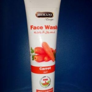 Смывка  для  лица  Face  Wash Hemani Carrot