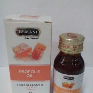 Масло прополиса холодного отжима Хемани Propolis Oil cold pressing Hemani 30 мл