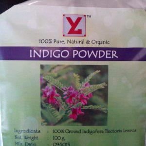 Порошок Басма Индиго для окрашивания волос Yogi  Globals Indigo  100 грамм