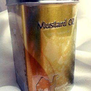 Mustard oil  cold pressing Hemani Масло Горчицы холодного отжима  100 мл