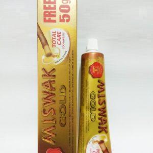 Зубная паста Мисвак Голд Дабур (Индия), Miswak Gold Dabur(Индия) 170 грамм
