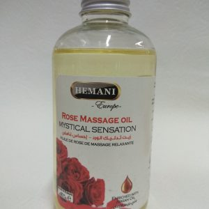 Rose massage oil Mystical Sensation Масло для массажа Розовая мистическая сенсация Hemani Хемани