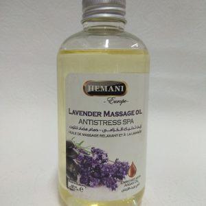 Lavender massage oil Antistress spa Масло для массажа с лавандой Антистресс спа Hemani Хемани