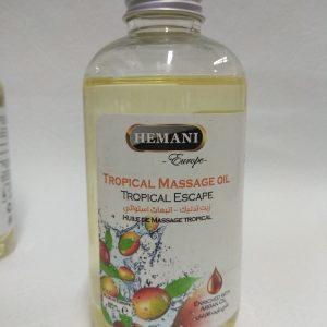 Tropical massage oil Tropical Escape Тропическое масло для массажа Тропический побег Hemani Хемани