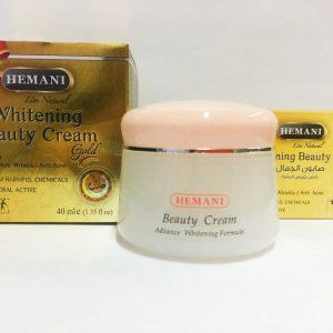 Hemani Whitening Beauty Cream Gold Отбеливающий крем для лица Hemani Хемани