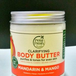 Petal Fresh Refreshing Mandarin & Mango  Органический боди – баттер  для тела Мандарин и Манго
