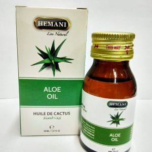 Масло алое холодного отжима Хемани Aloe Oil cold pressing Hemani 30 мл