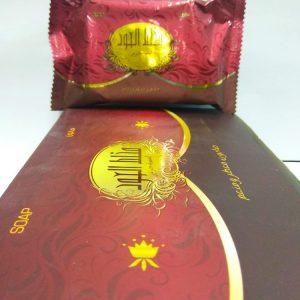 Арабское мыло парфюмированное класса LUX  Banafa (Саудовская Аравия) с Удом