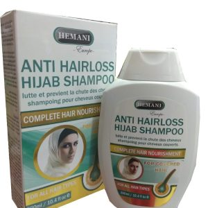 Шампунь от выпадения волос для тех, кто носит хиджаб Hemani Hijab Shampoo Anti Hairloss 3  in 1 300 мл