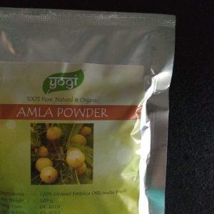 Порошок Амла Amla powder Yogi Globals   100 грамм 120