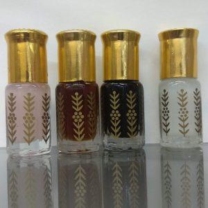 Золотая коллекция — Белый Мускус, Черный Мускус, Амбер, Розовый Мускус  1 флакон 3 мл