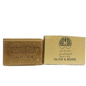 Мыло Алеппское Savon d'Alep лавровое с оливковым маслом