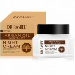 Ночной крем Dr. Rashel Argan Oil Multi Lift  с маслом Аргании для лица от морщин 50мл