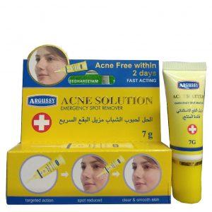 Тайский точечный  крем от акне концентрированный мгновенного действия  Argussy Acne Solution 7 грамм