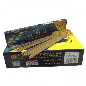 Аромапалочки благовония индийские Shalimar Blue Musk 20 штук