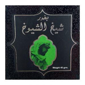 Бахур Ard al Zaafaran  Bukhoor Sheikh al Shuyukh 40 грамм пряный яркий мужской аромат