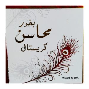 Бахур Ard al Zaafaran  Bukhoor Mahasin Crystal 40 грамм  приятный женский аромат, сладковатый