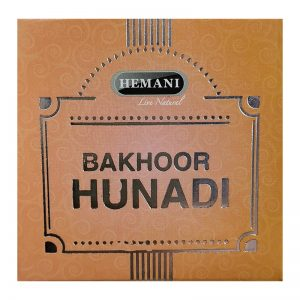Бахур прессованный мелкоопилочный Hemani Hunadi 40 грамм