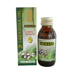 Масло Усьмы (Тарамира) от выпадения волос и для роста бровей, ресниц Hemani Taramira oil 60 мл