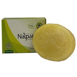 Индийское мыло Nalpamara  с Лаймом 75 грамм