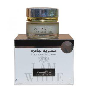 Крем-благовоние для тела макмария-джамид Ard Al Zaafaran Mukmaria Ana Abiyedh White  20 грамм