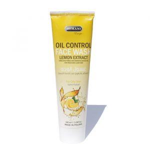 Средство для умывания лица Oil Control   Faсe wash with Lemon Extraсt (Hemani)