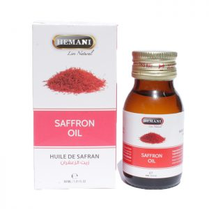 Масло шафрана холодного отжима Хемани Saffron Oil cold pressing Hemani 30 мл