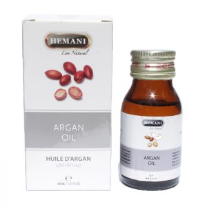 Масло аргании холодного отжима Хемани Argan Oil cold pressing Hemani 30 мл
